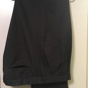 Van Heusen Charcoal Gray Dress Pants 42x34